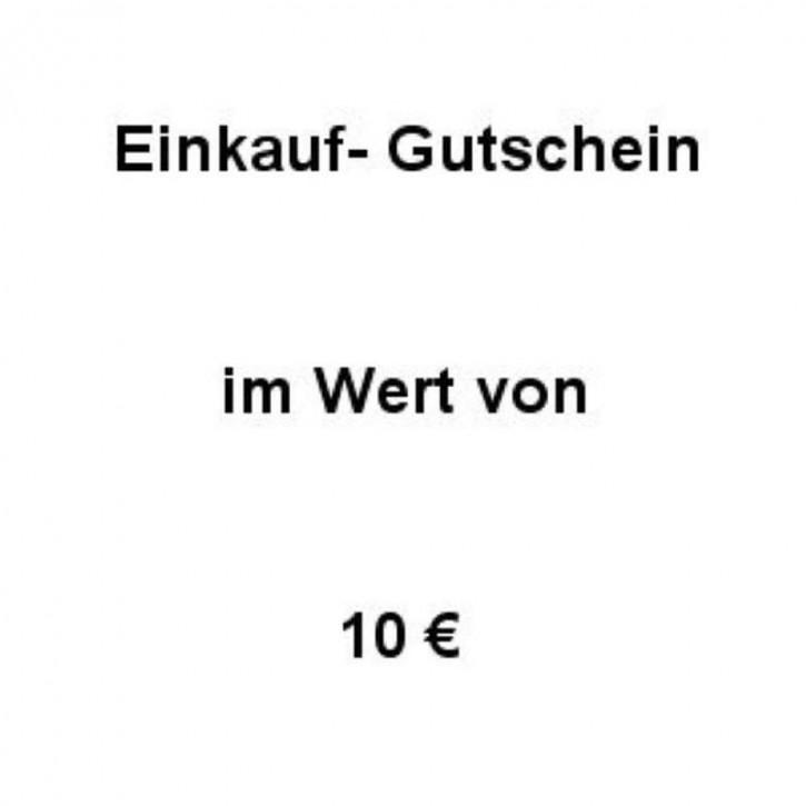 Einkaufsgutschein Wert 10 €