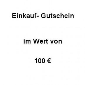 Einkaufsgutschein Wert 100 €