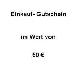 Einkaufsgutschein Wert 50 €